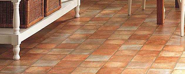 Lino tile flooring